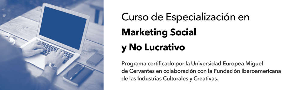 Curso Marketing Social y No lucrativo